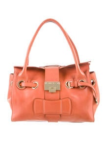 celine mini luggage tote bag price - C��line Perforated Leather Handle Bag - Handbags - CEL32045 | The ...