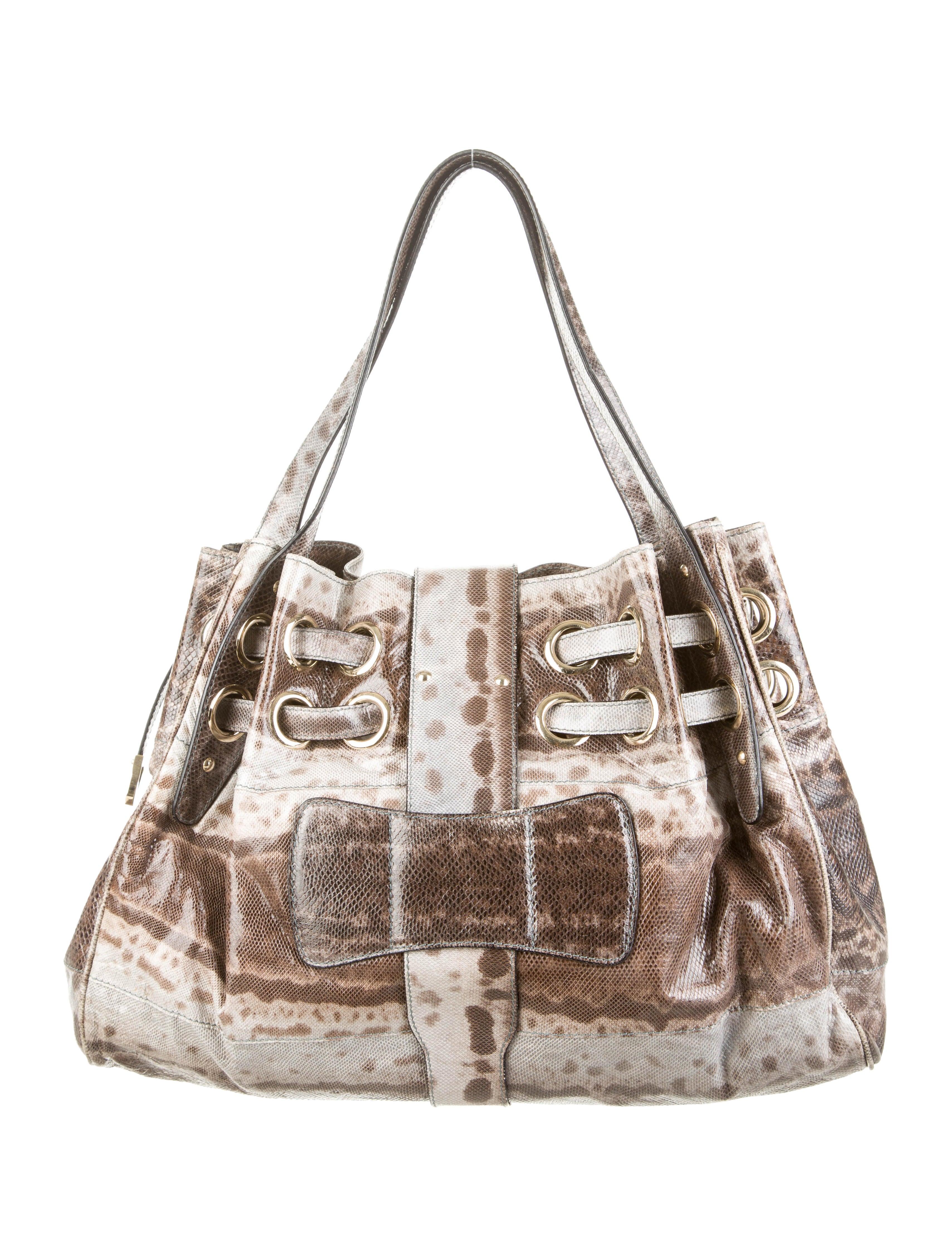 Jimmy Choo Karung Riki Bag - Handbags - JIM42191 | The RealReal