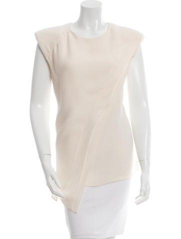 J. Mendel Layered Silk Top None
