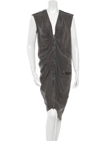Joseph Silk Sleeveless Dress None