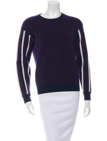 Joseph Wool Patterned Sweater None