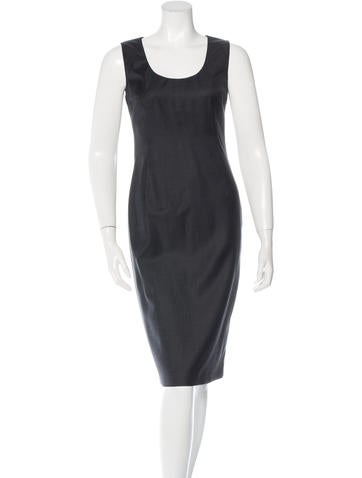 Joseph Wool Sleeveless Dress None