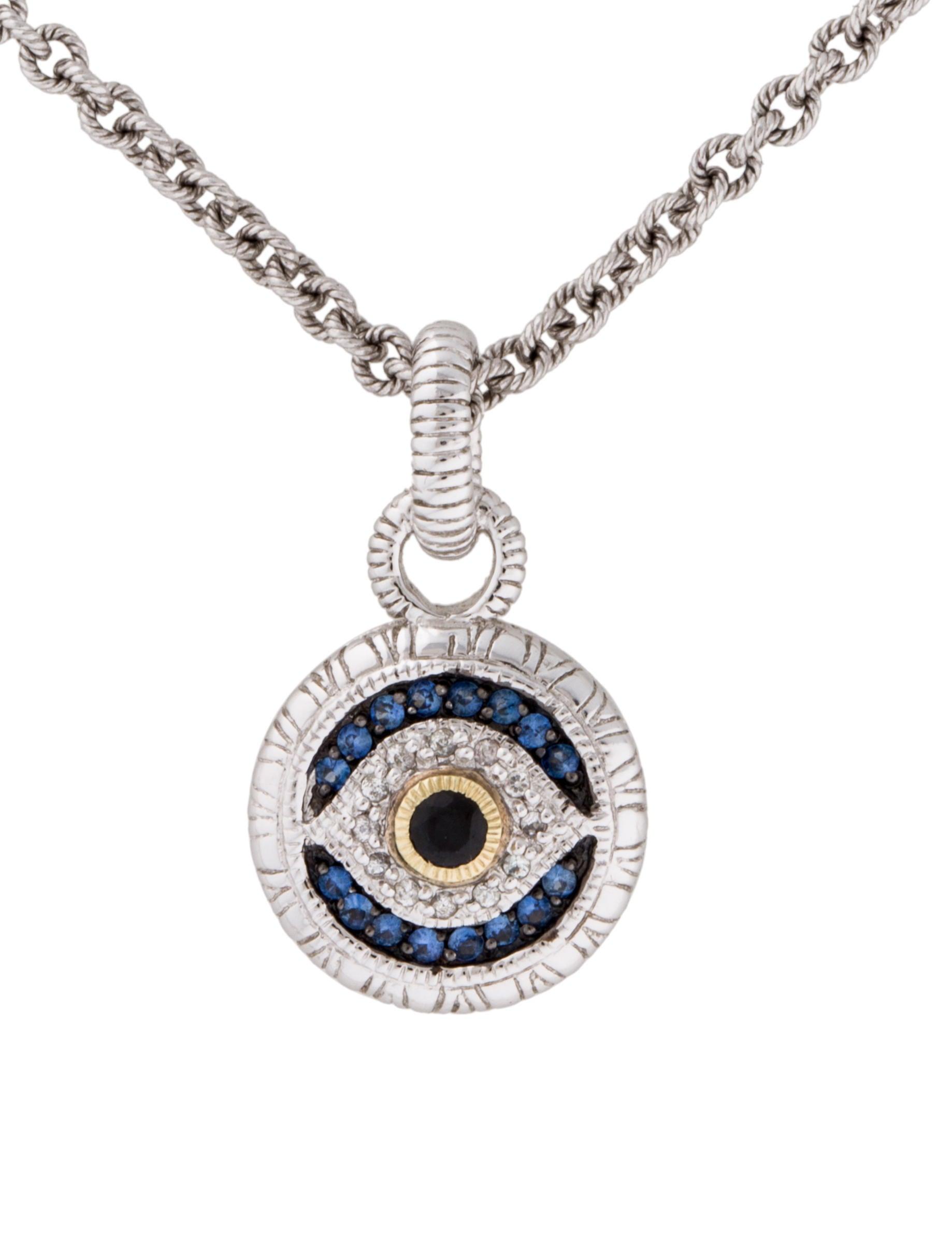 judith ripka evil eye necklace necklaces jrk21234