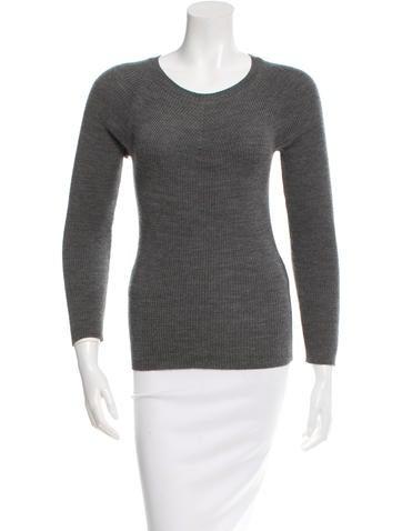 Junya Watanabe Rib Knit Long Sleeve Sweater None