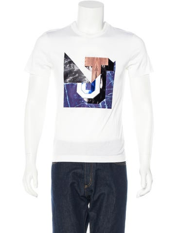Juun J. Embroidered Graphic T-Shirt None