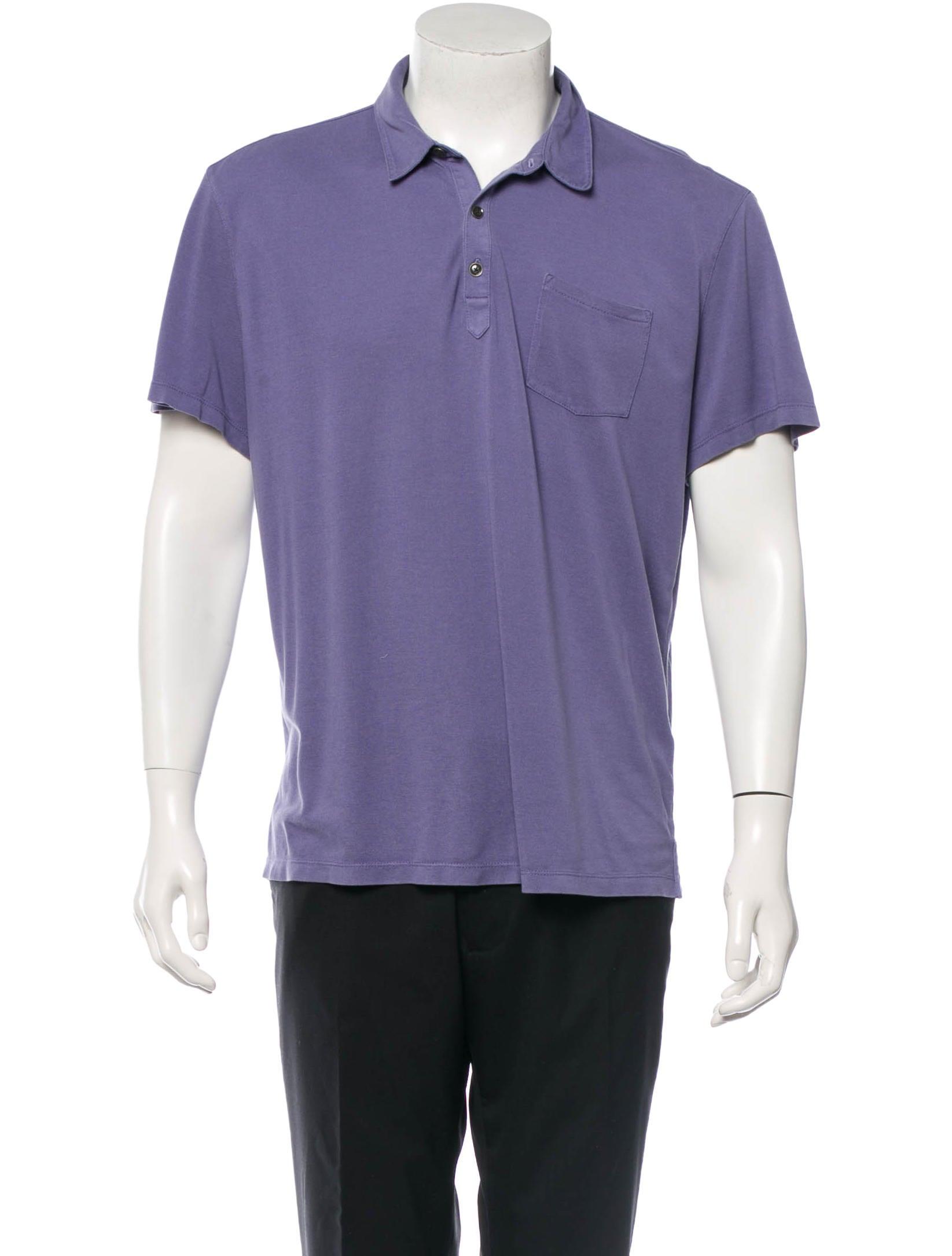 John Varvatos Silk Polo Shirt Clothing Jva20892 The