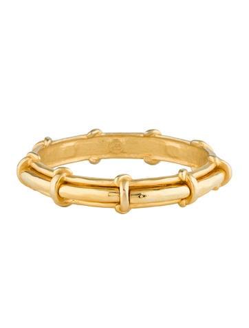 Karl Lagerfeld Gold-Tone Bangle Bracelet