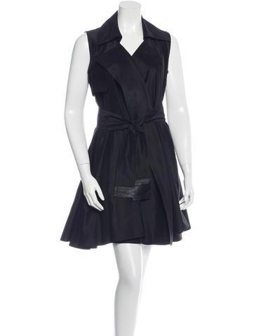 Kaufmanfranco Belted Wrap Dress