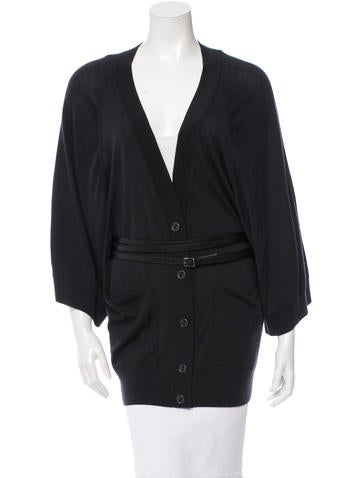 Kaufmanfranco Wool Belted Cardigan None