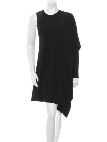 Kaufmanfranco Asymmetrical Mini Dress None
