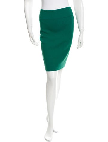 Kenzo Mid-Rise Pencil Skirt w/ Tags None