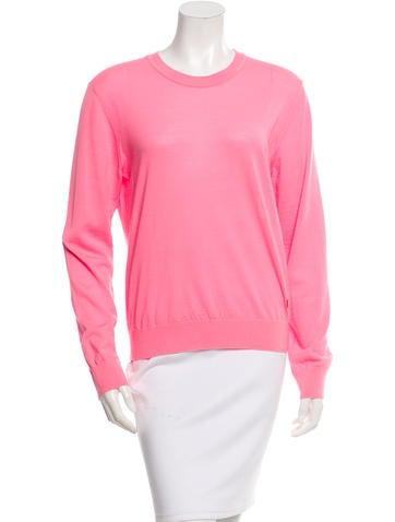 Kenzo Wool Crew Neck Sweater None