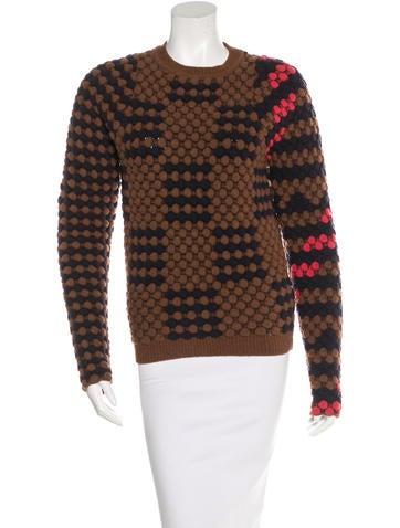 Kenzo Wool Patterned Sweater None