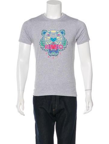 Kenzo Tiger Graphic T-Shirt None