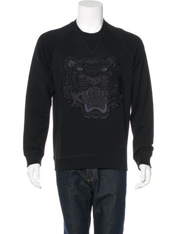 Kenzo Embroidered-Tiger Sweatshirt w/ Tags None