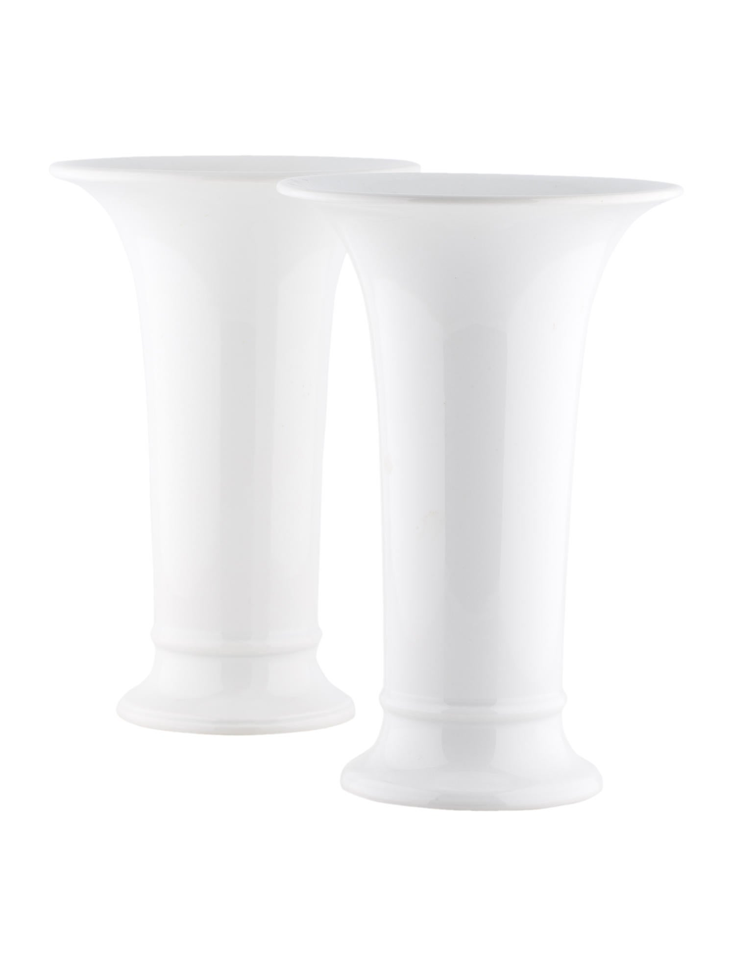 KPM Berlin Tall Porcelain Vases Decor And Accessories