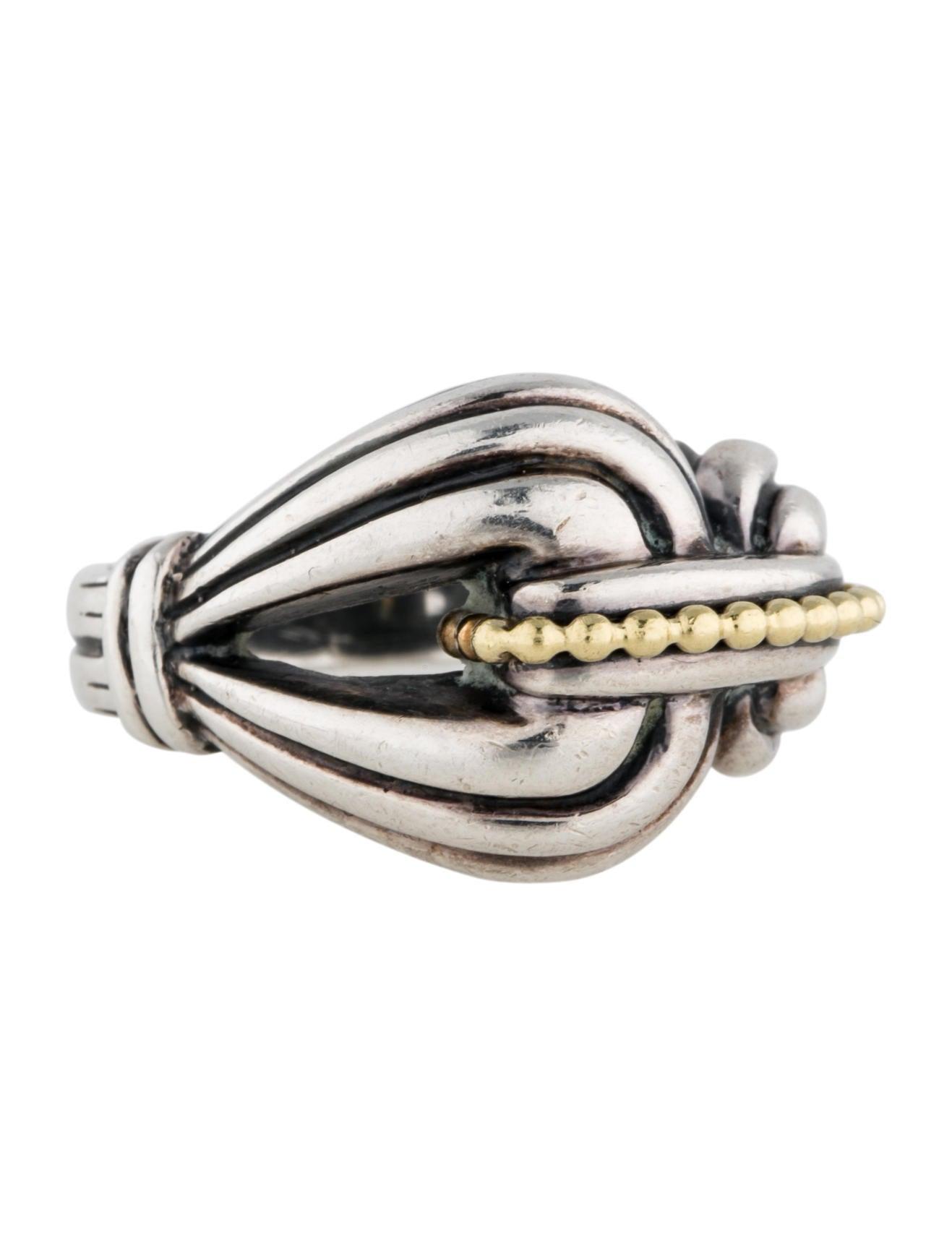 lagos caviar buckle ring rings lag20634 the realreal