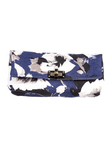 Lanvin Fold-Over Clutch