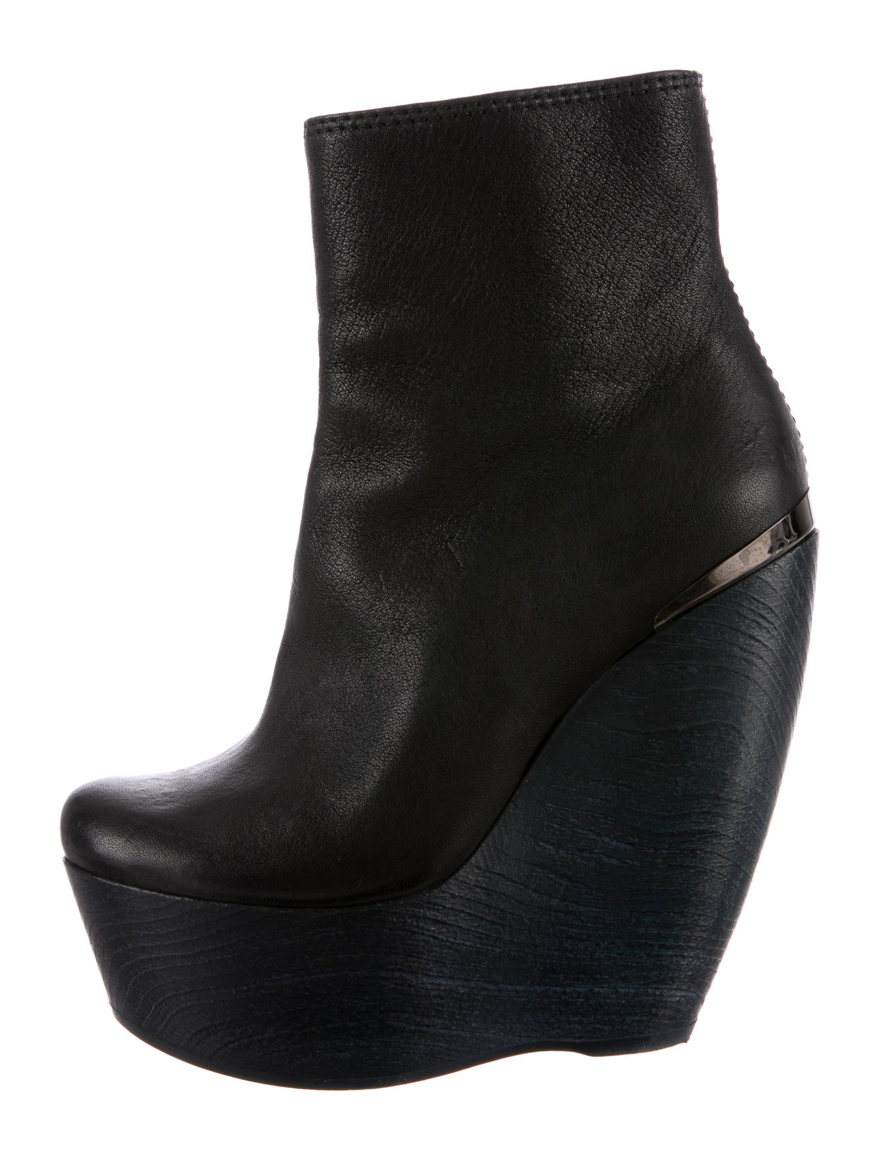 lanvin platform ankle boots shoes lan30626 the realreal