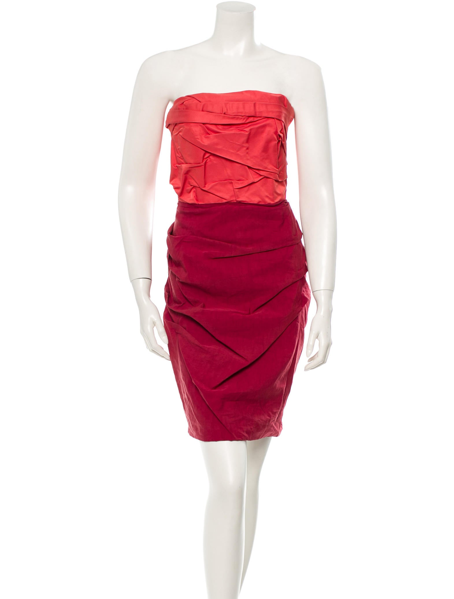 products women clothing dresses lanvin deconstructed cocktail dress