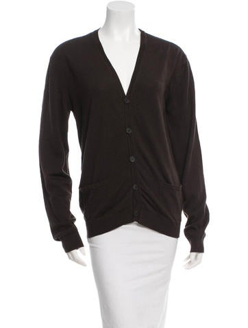 Lanvin Striped Wool Cardigan None