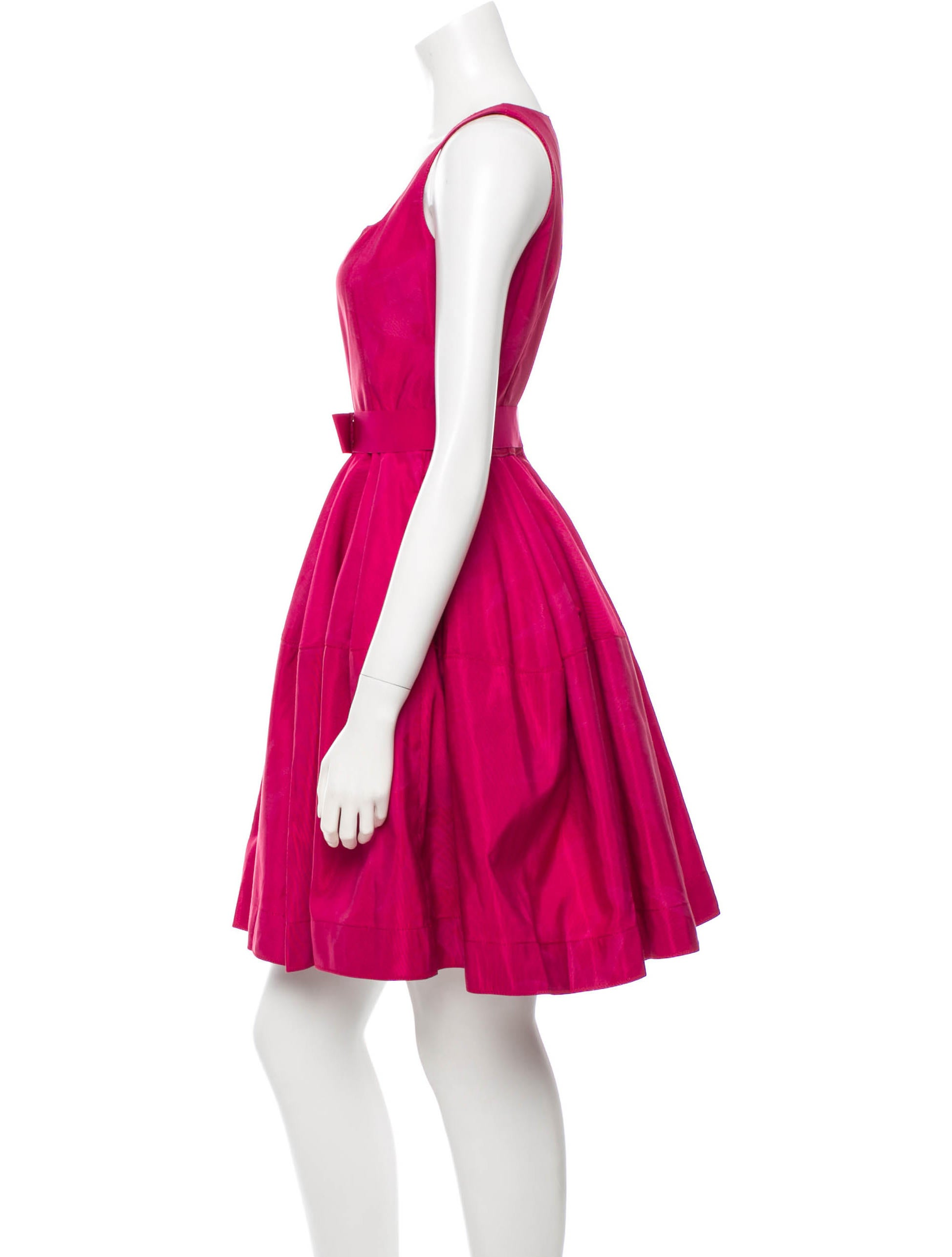 lanvin belted a line dress dresses lan39901 the realreal