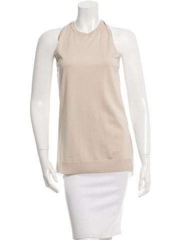 Lanvin Sleeveless Knit Top w/ Tags None