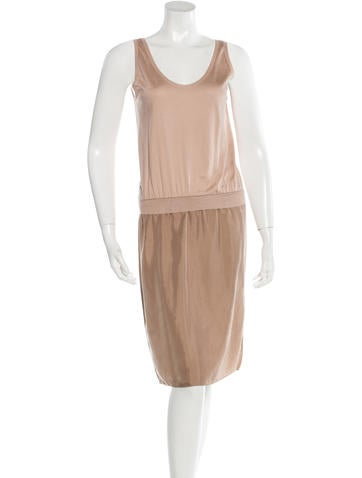 Lanvin Knit Midi Dress None