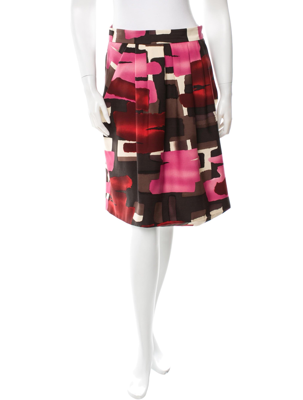 Wool Blend Skirt 64