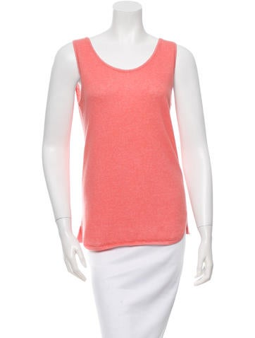 Loro Piana Sleeveless Cashmere-Blend Top None