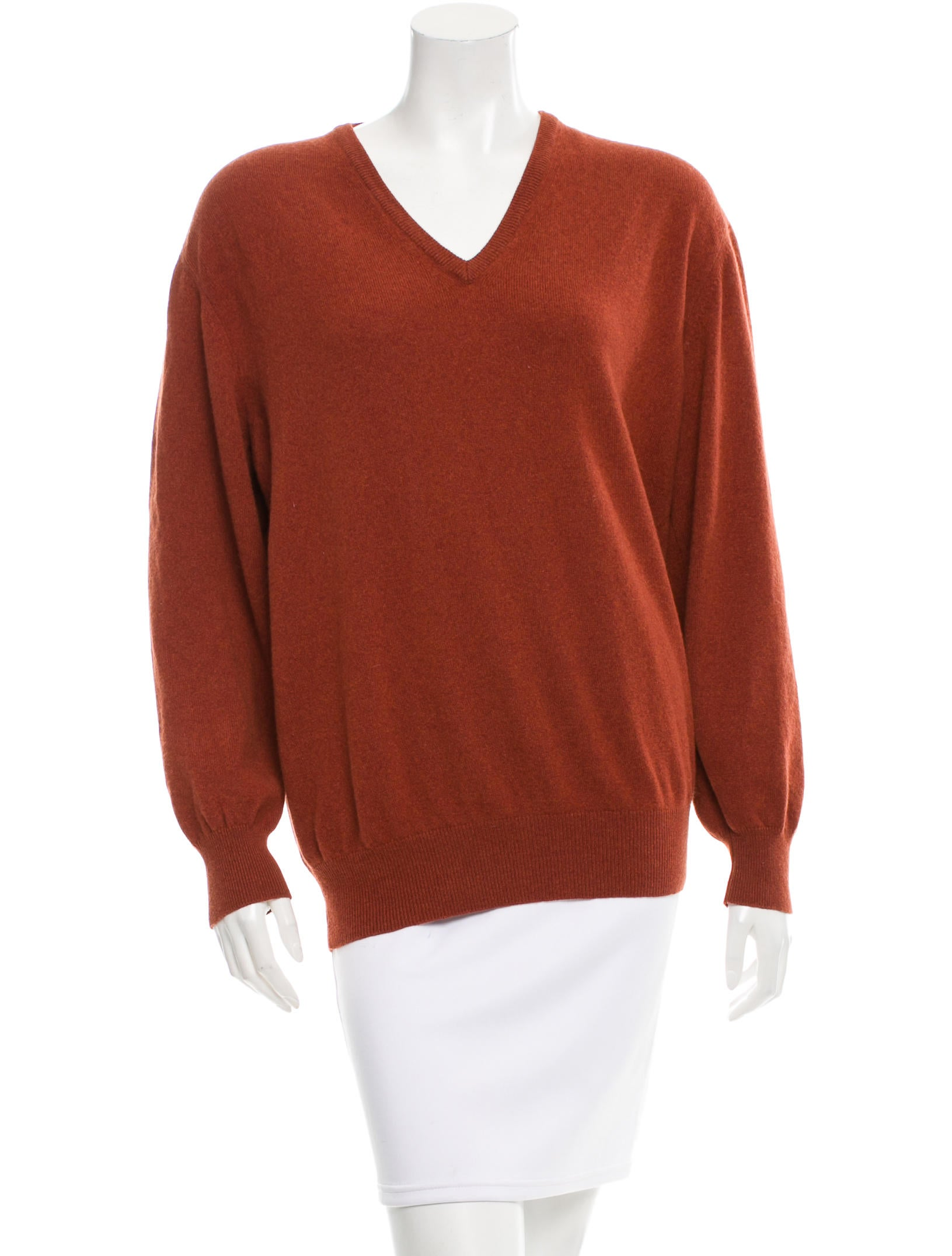 Loro piana cashmere elbow patch sweater clothing