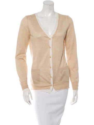 Loro Piana Colorblock V-Neck Cardigan None