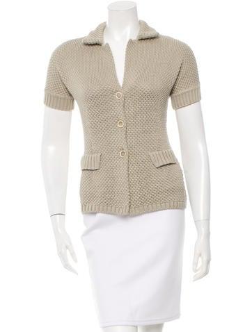 Loro Piana Button-Up Knit Top None