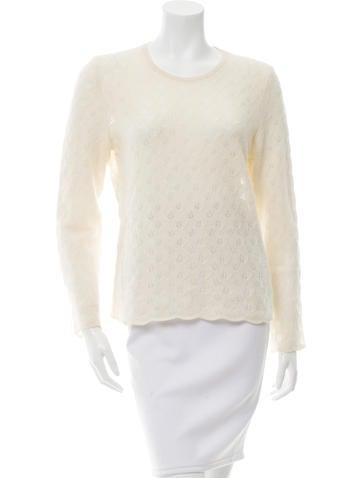 Loro Piana Open Knit Cashmere Sweater None