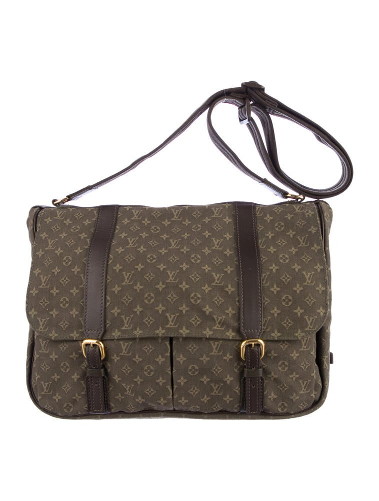 louis vuitton mini lin sac a langer baby bag handbags lou24862 the realreal. Black Bedroom Furniture Sets. Home Design Ideas