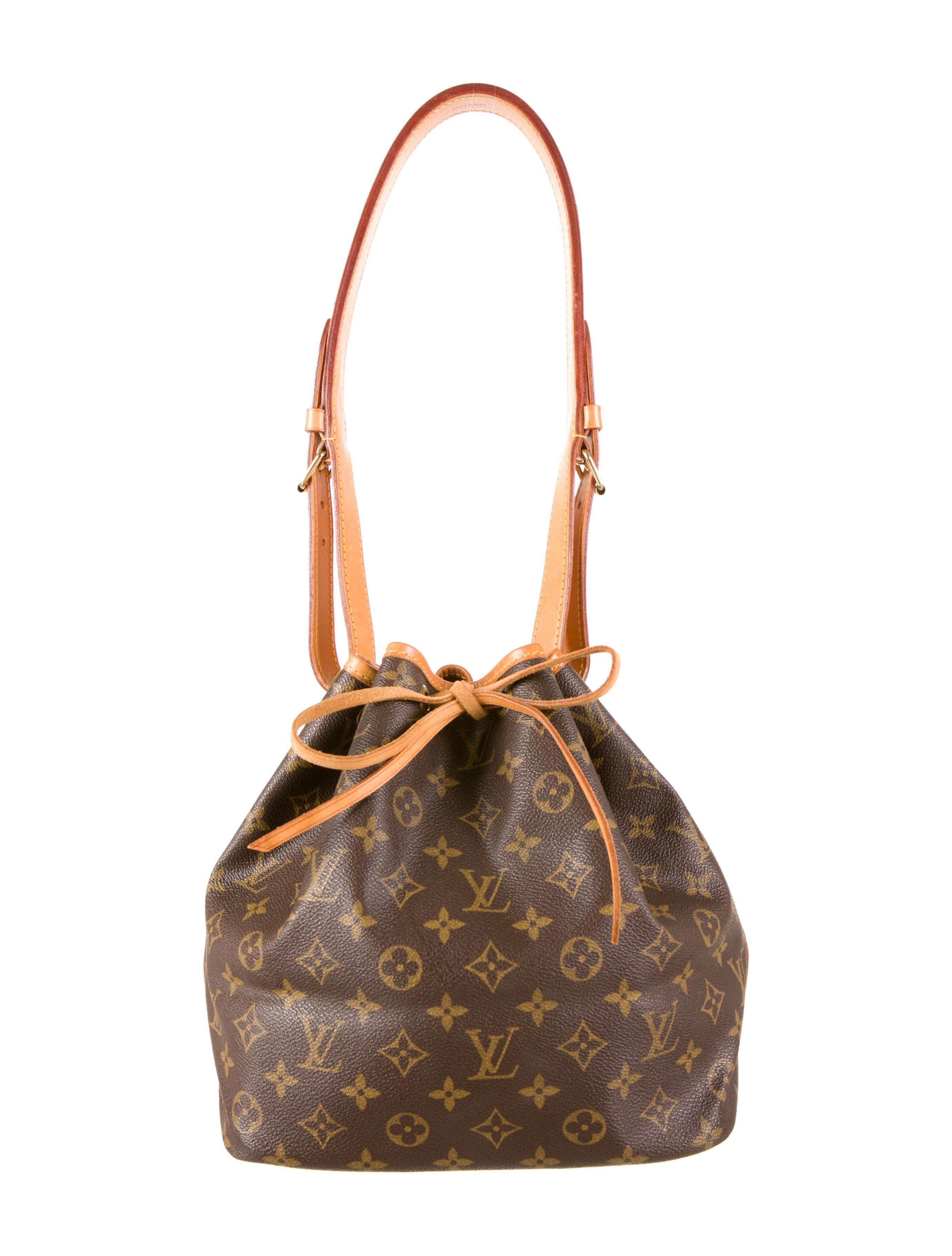 louis vuitton noe bag handbags lou46569 the realreal. Black Bedroom Furniture Sets. Home Design Ideas