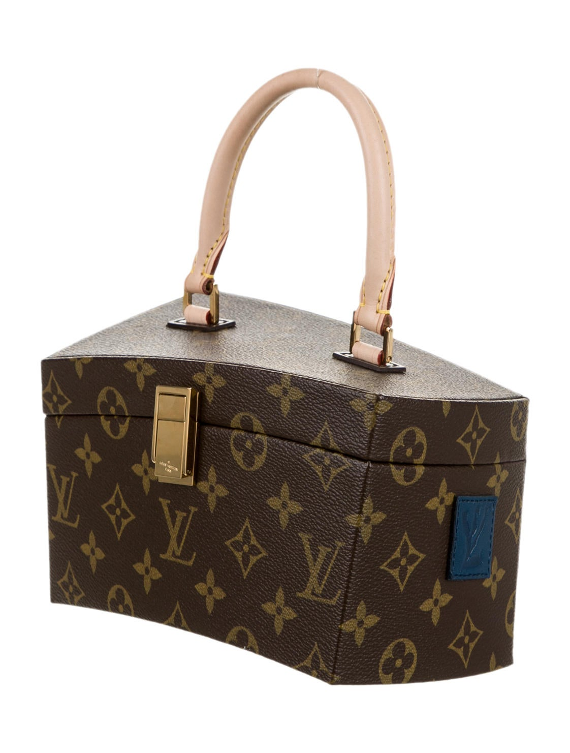 Louis vuitton twisted box frank gehry handbags lou47115 the realreal - Frank gehry louis vuitton ...