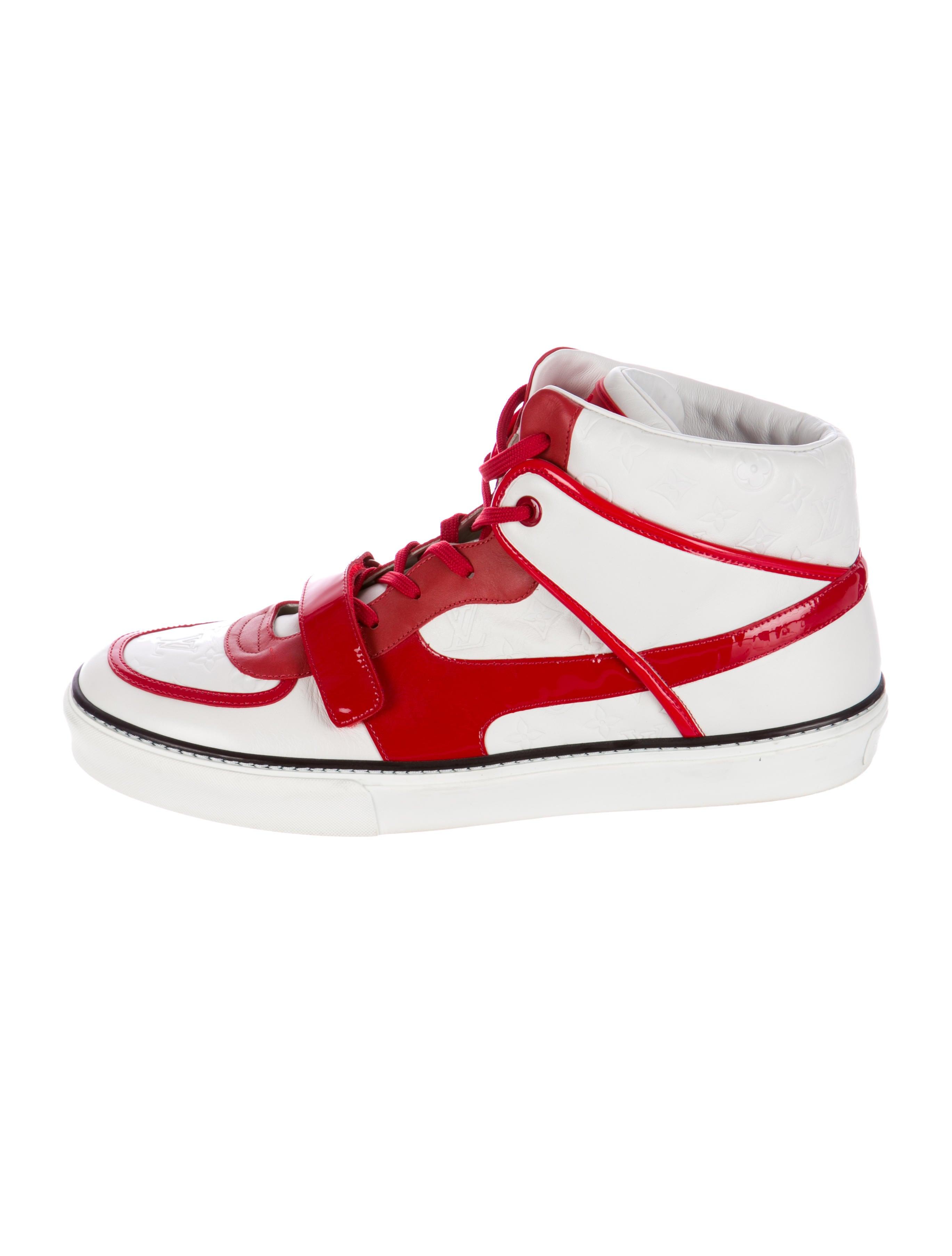 Louis Vuitton Monogram High-Top Sneakers - Mens Shoes - LOU48045 ...