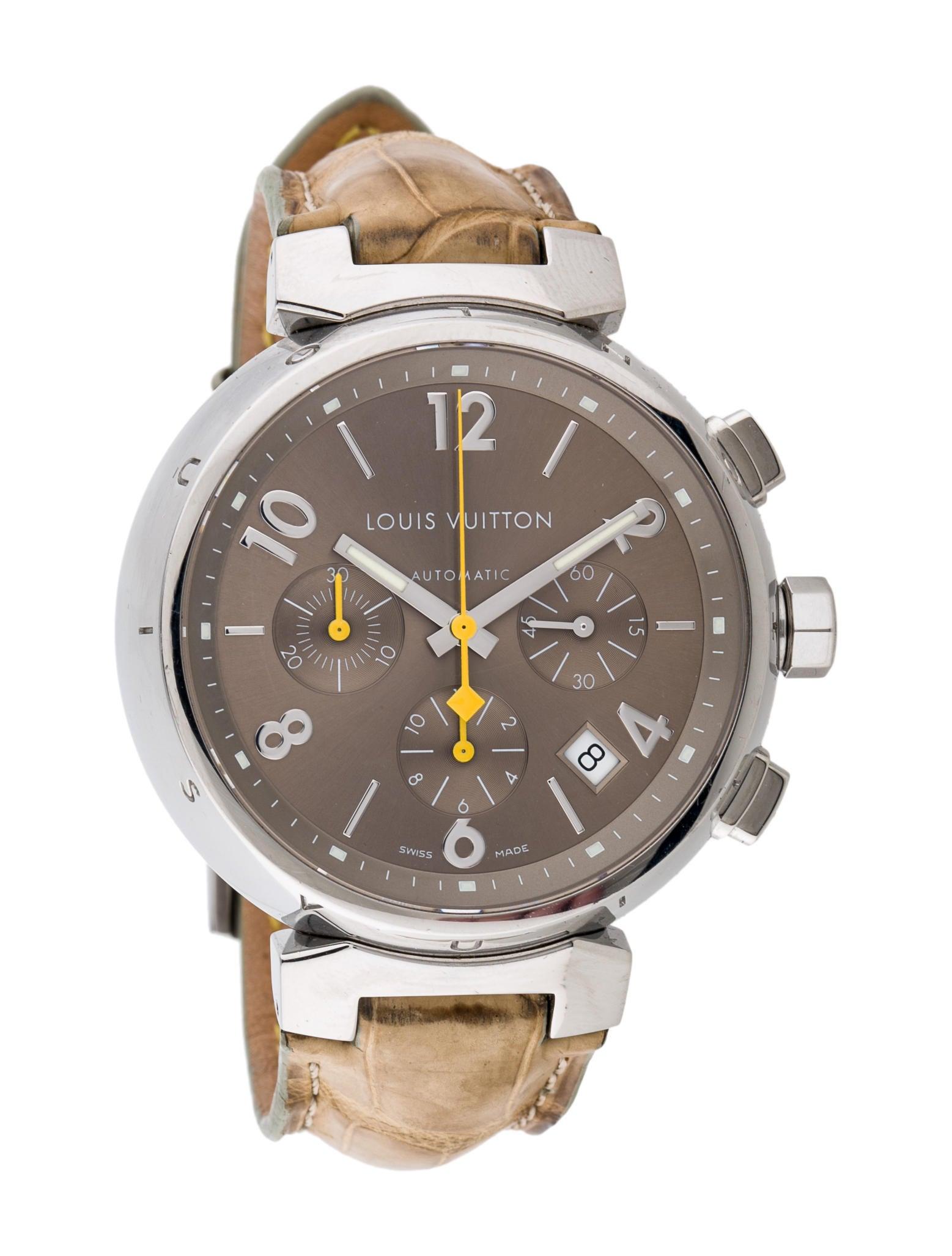 louis vuitton tambour chronograph lou50127