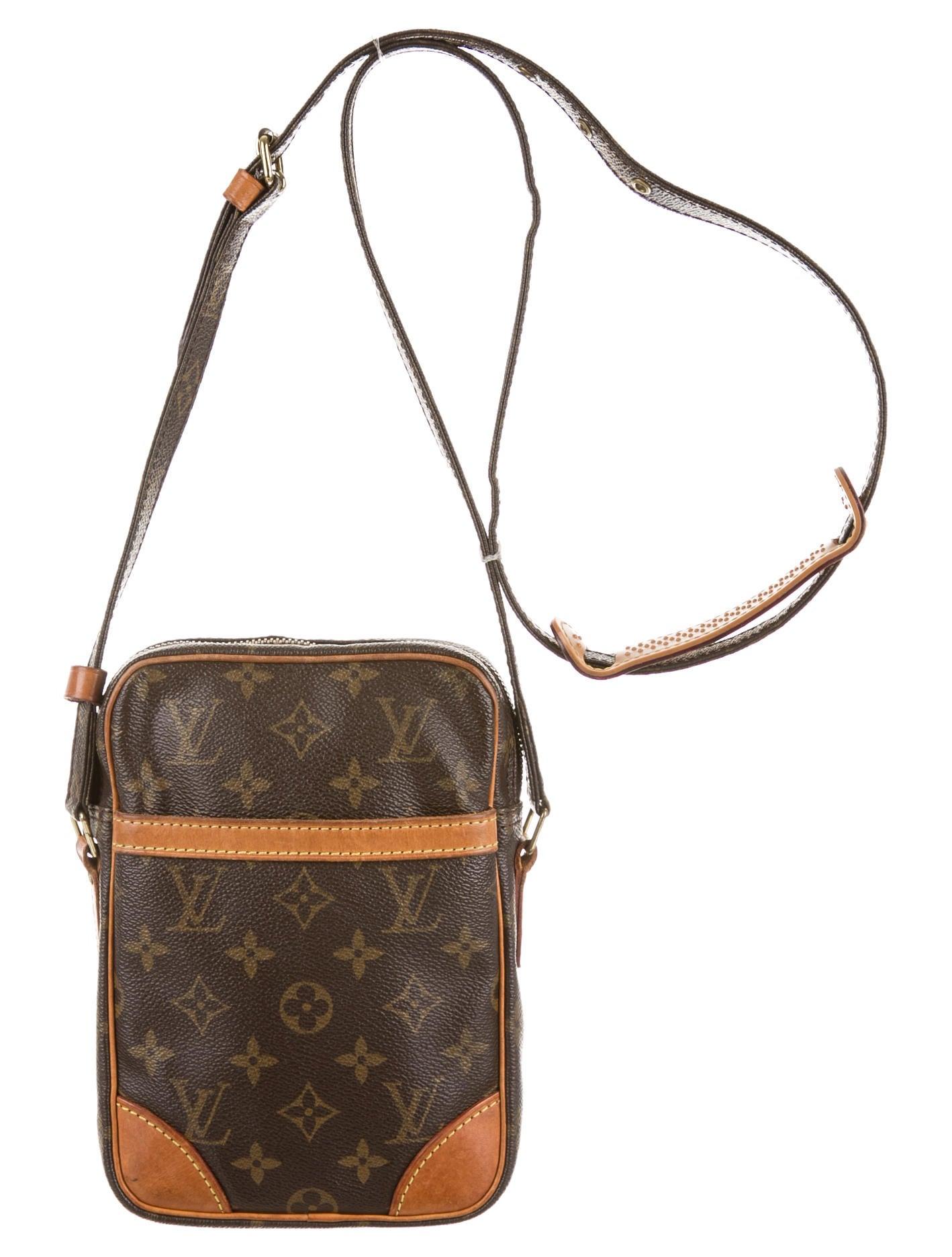 Innovative Louis Vuitton Brown Saumur 35 Crossbody In Brown  Lyst