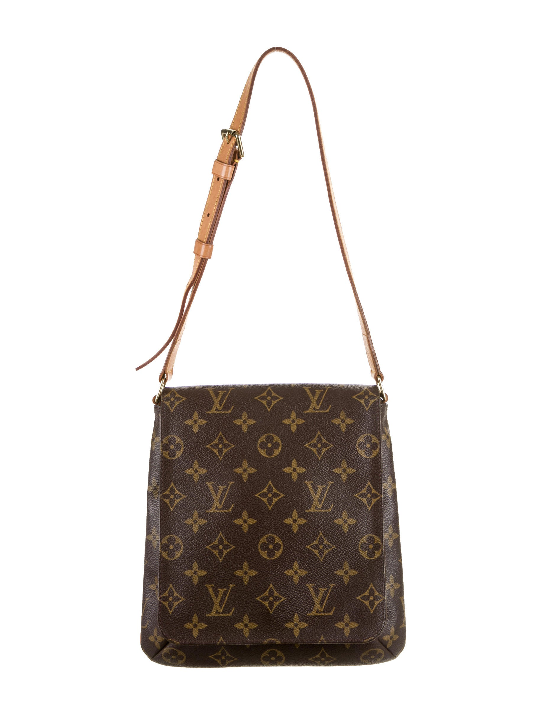 louis vuitton musette salsa bag handbags lou51078 the realreal. Black Bedroom Furniture Sets. Home Design Ideas