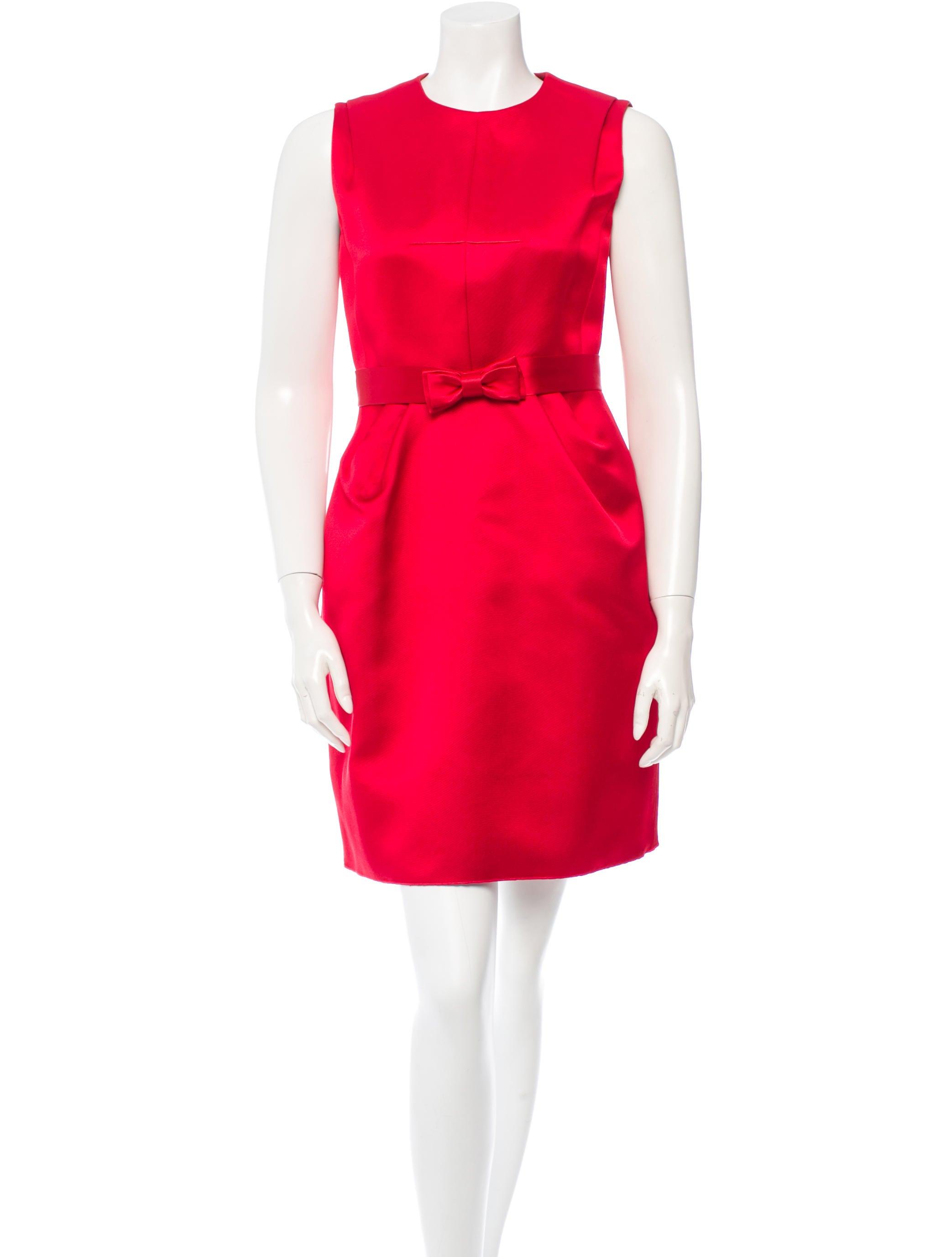 Louis vuitton silk dress dresses lou53158 the realreal
