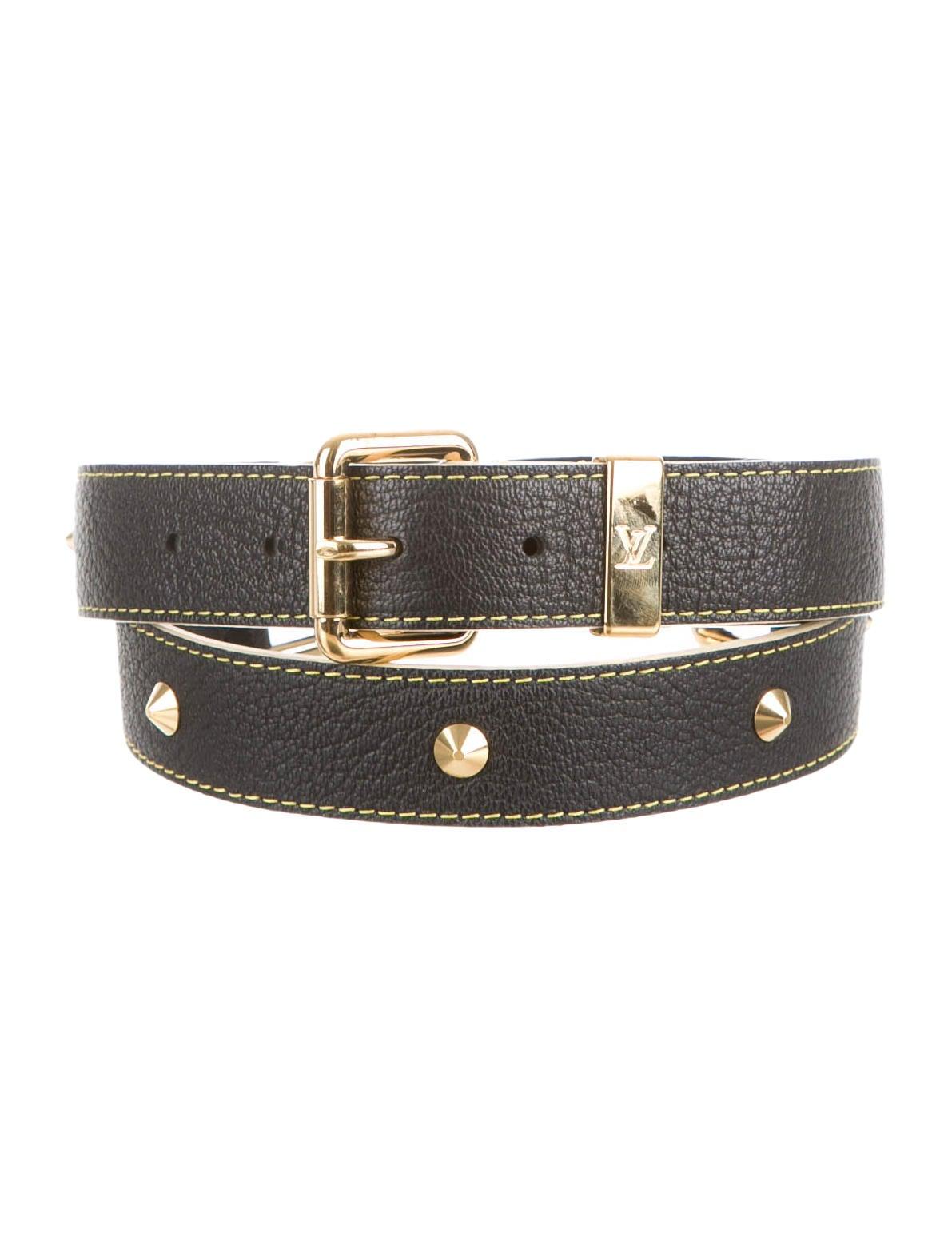 Louis Vuitton Suhali Belt - Accessories - LOU57111   The RealReal  Louis Vuitton S...