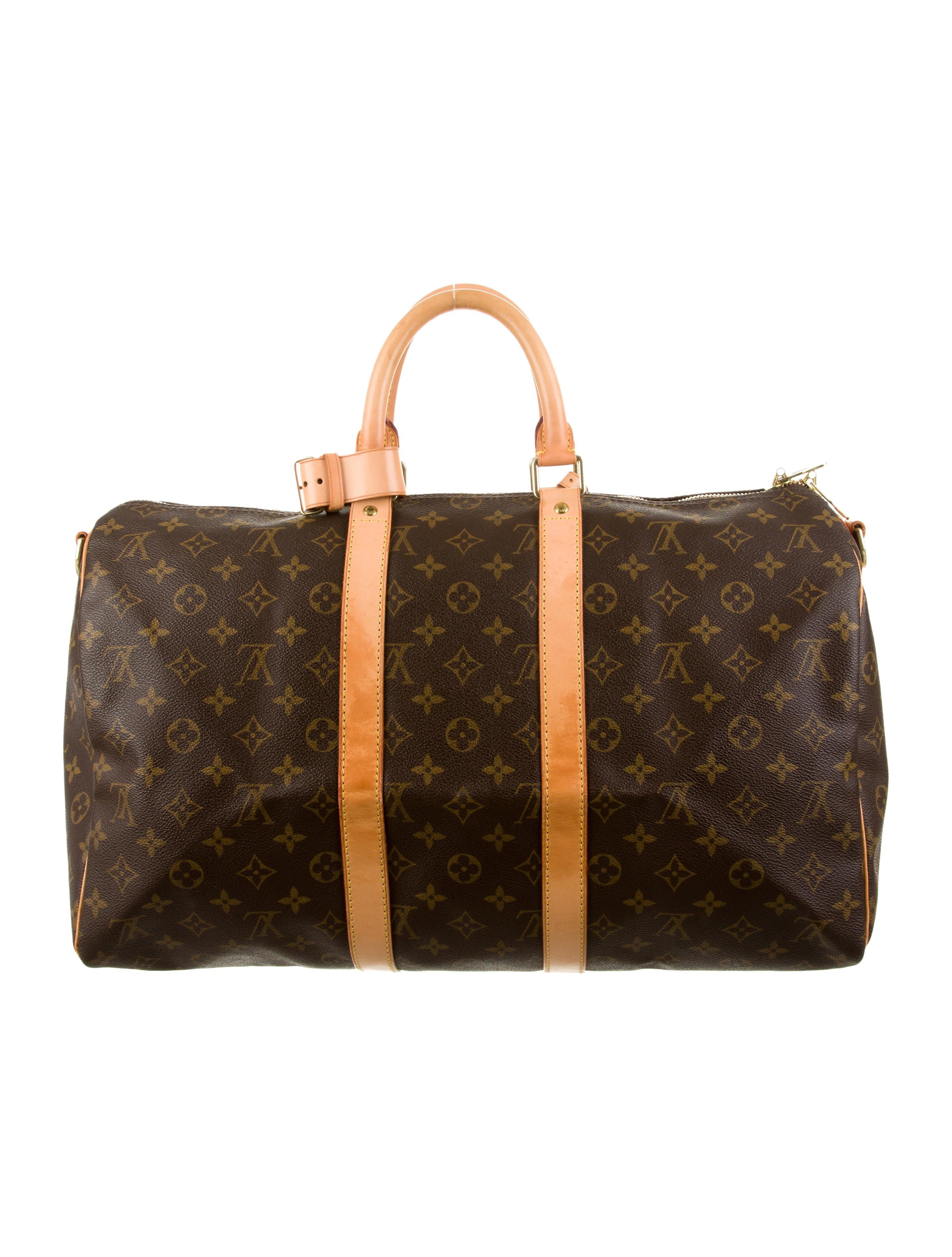 louis vuitton keepall bandouli re 45 handbags lou57321. Black Bedroom Furniture Sets. Home Design Ideas