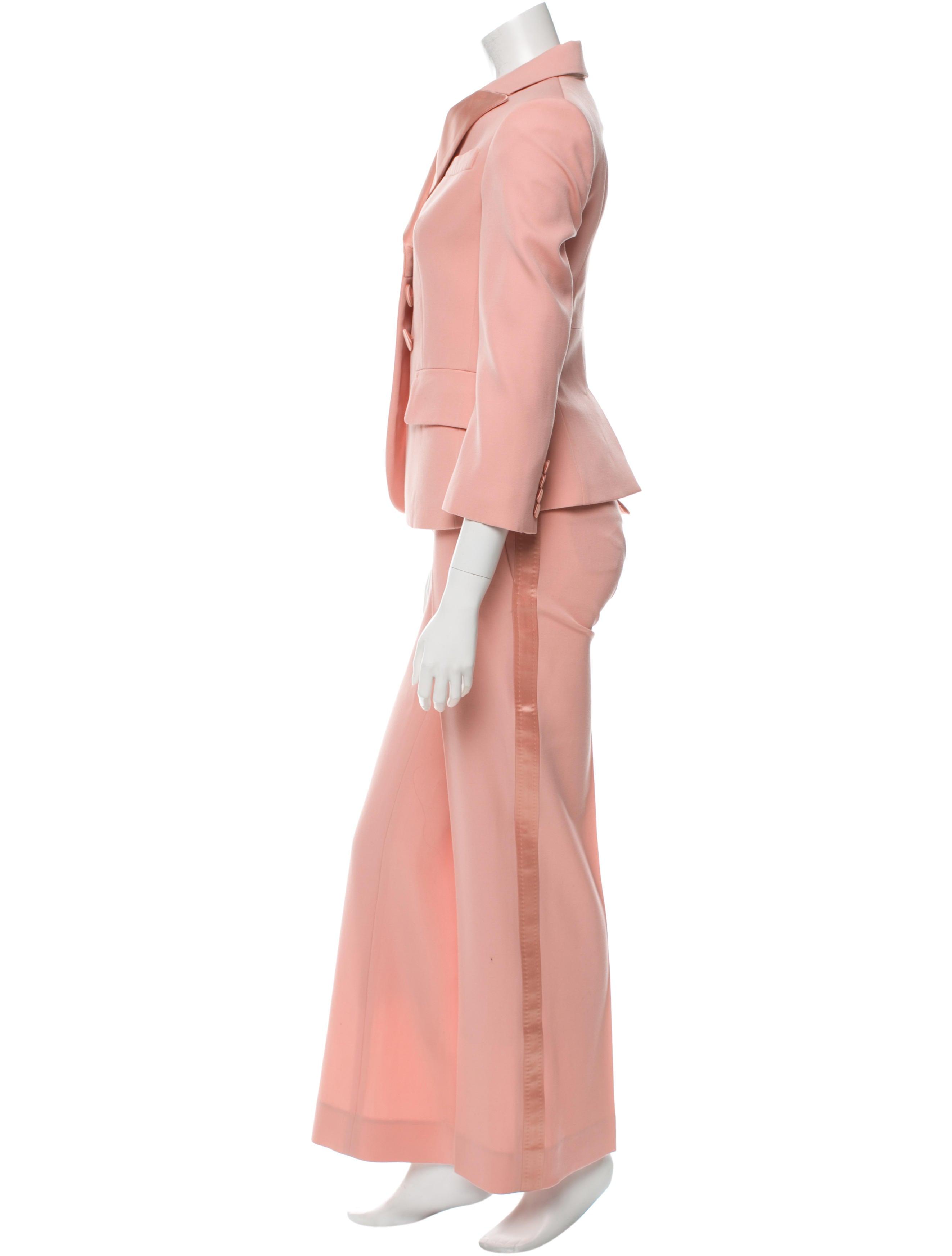 Excellent Louis Vuitton Silk Leopard Print Pants  Clothing  LOU76517  The