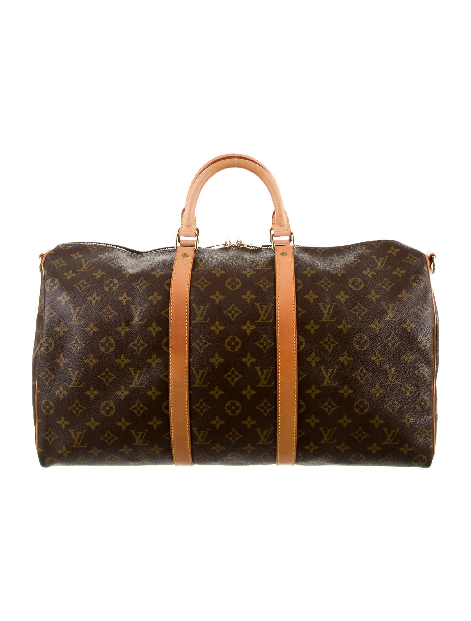 louis vuitton monogram keepall 50 luggage lou65394 the realreal. Black Bedroom Furniture Sets. Home Design Ideas
