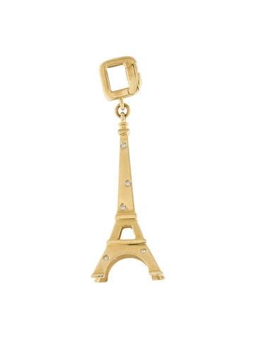 Louis Vuitton 18K Diamond Eiffel Tower Charm