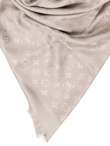 cost of christian louboutin shoes - Louis Vuitton Silk & Wool Monogram Shawl - Accessories - LOU70975 ...