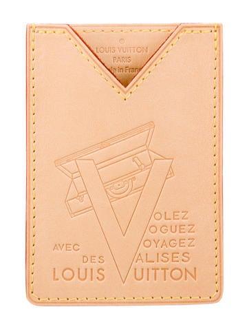 Louis Vuitton Vachetta Voyagez Card Holder