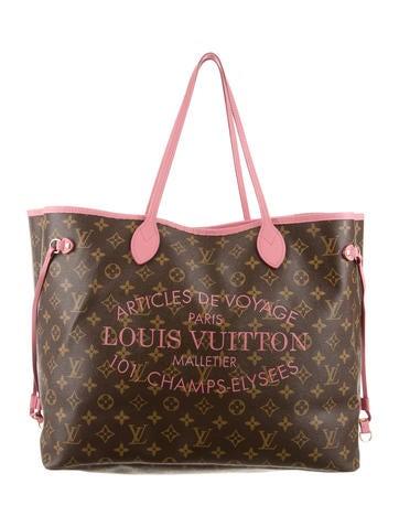 Louis Vuitton Monogram Ikat Neverfull GM